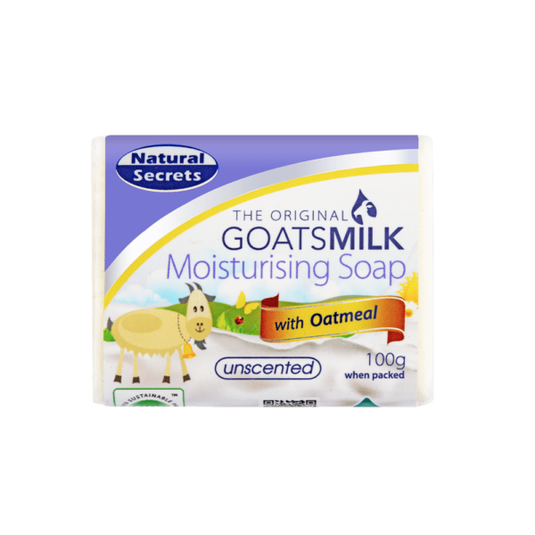 Goats Milk Soap w/ Oatmeal 100g