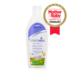 Goats Milk Baby Bath for Hair & Body 250ml