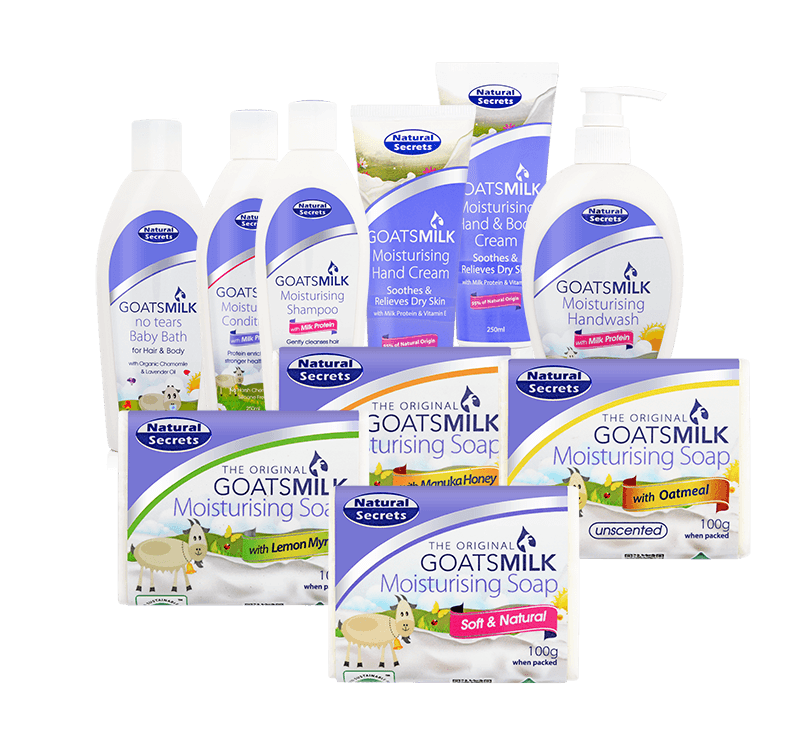 About Natural Secrets Goats Milk Soap And Skin Care Products