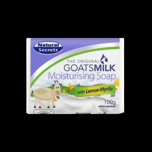 Goats Milk Soap w/ Lemon Myrtle 100g