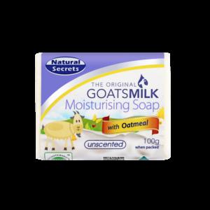 Goats Milk Soap w/ Oatmeal 100g
